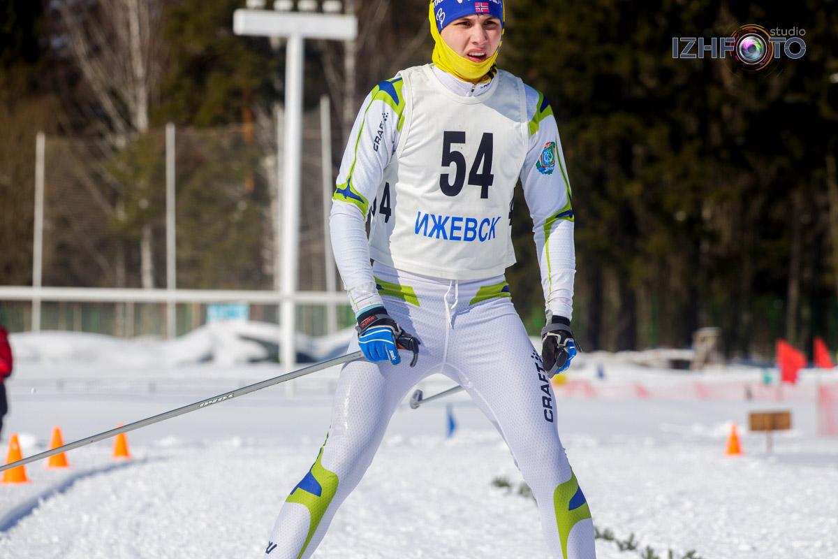 Фото с соревнований по зимнему триатлону в Ижевске