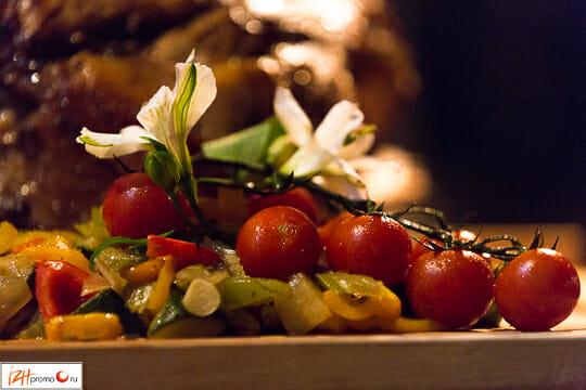 Блюда Паназиатской кухни Фото