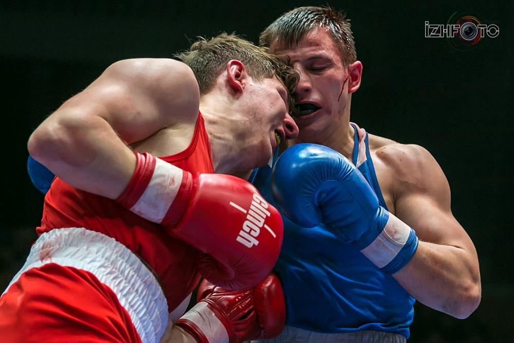 Фото с финала кубка России по боксу в Ижевске