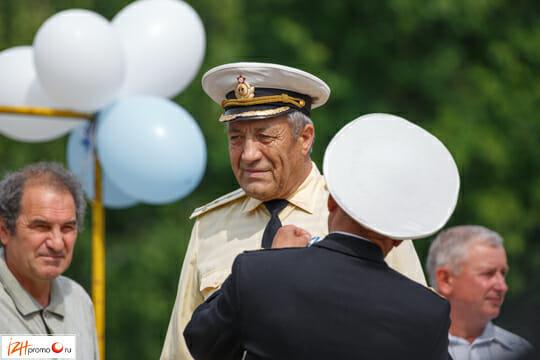 Парк им.Кирова - празднование дня ВМФ