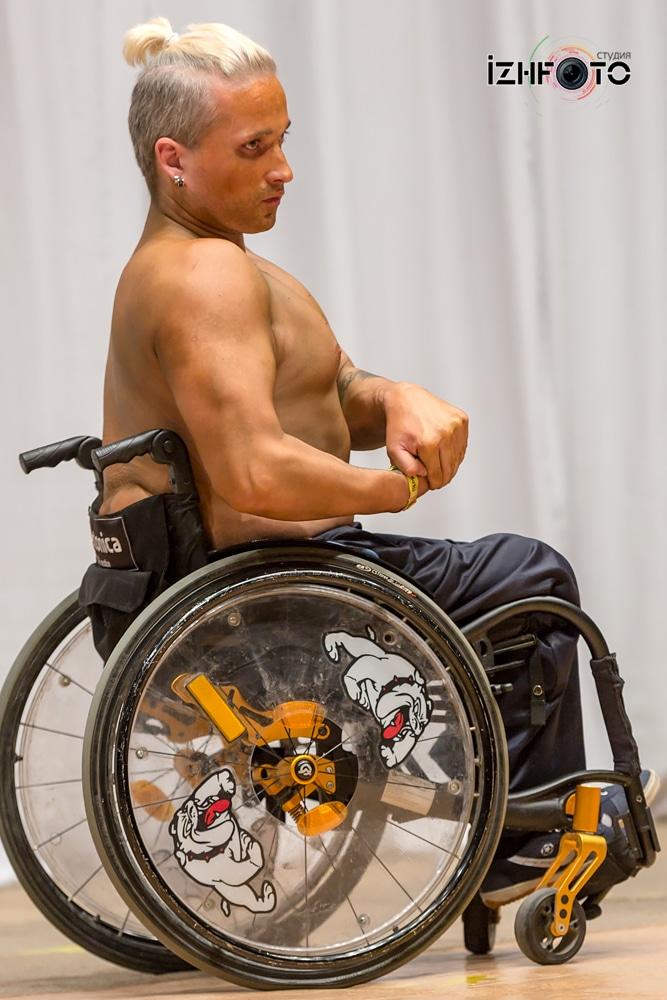 Бодибилдинг на колясках