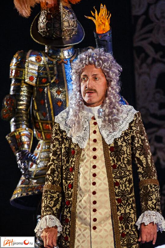 Спектакль Учитель танцев (Лопе де Вега) - это комедия в 2х действиях