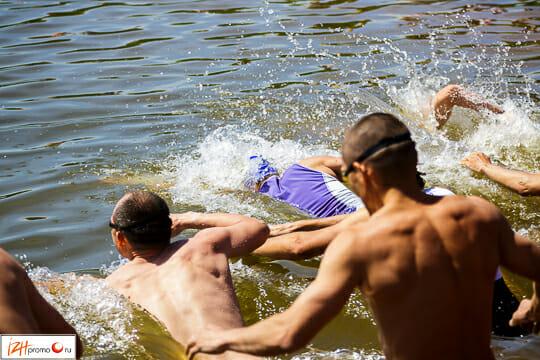 Соревнования по триатлону на РССК им. Демидова (Ижевск)