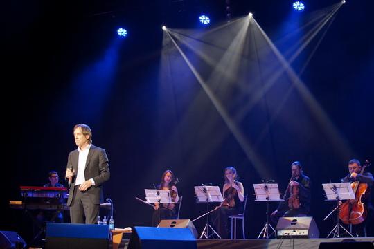 Фото с концерта Николая Носкова а Ижевск