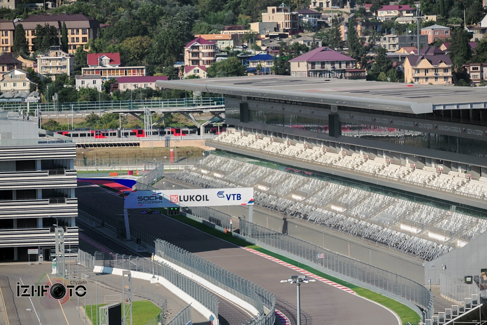 Трасса Формула 1 Сочи