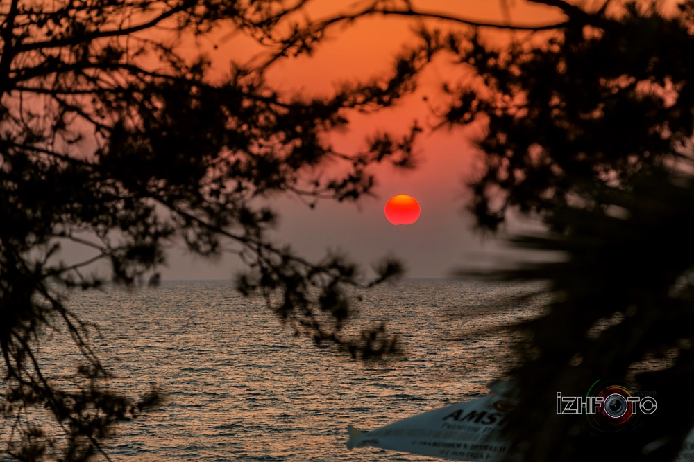 Закат в Сочи Фото