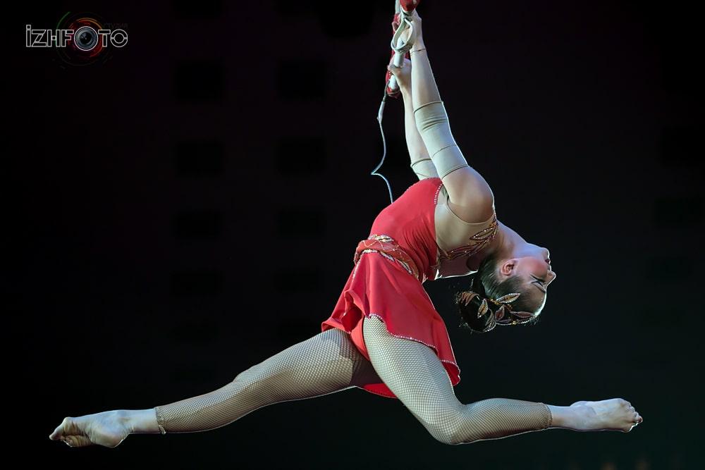 """Inspiration"", Liubov Uliankina, trapeze, Russia"