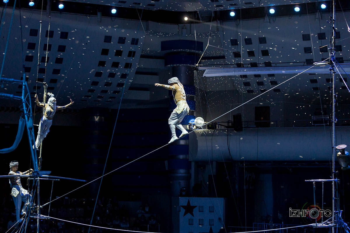 """Sirakan"", high wire led by Sirakan Suanbekhova, Russia"