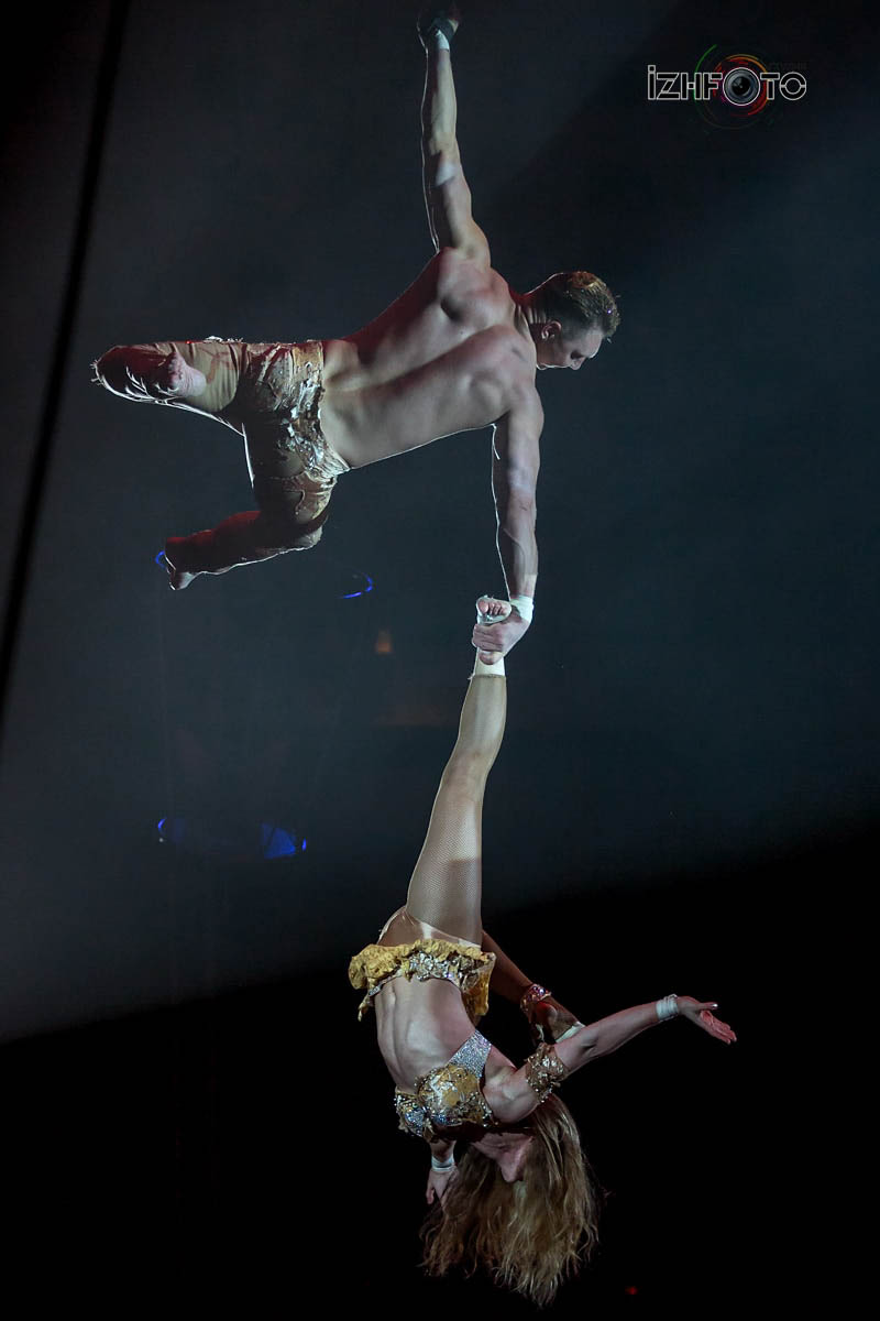 Duo A&J, aerial straps, Great Britain -Ukraine