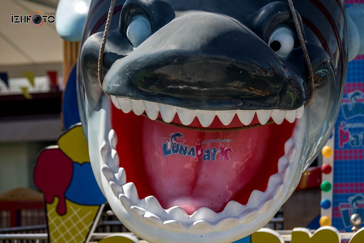 Лунапарк Айя Напа / Parko Paliatso Fun Fair & Luna Park