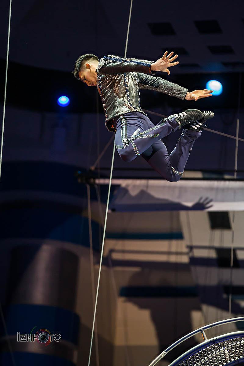 Колесо смелости Цирк