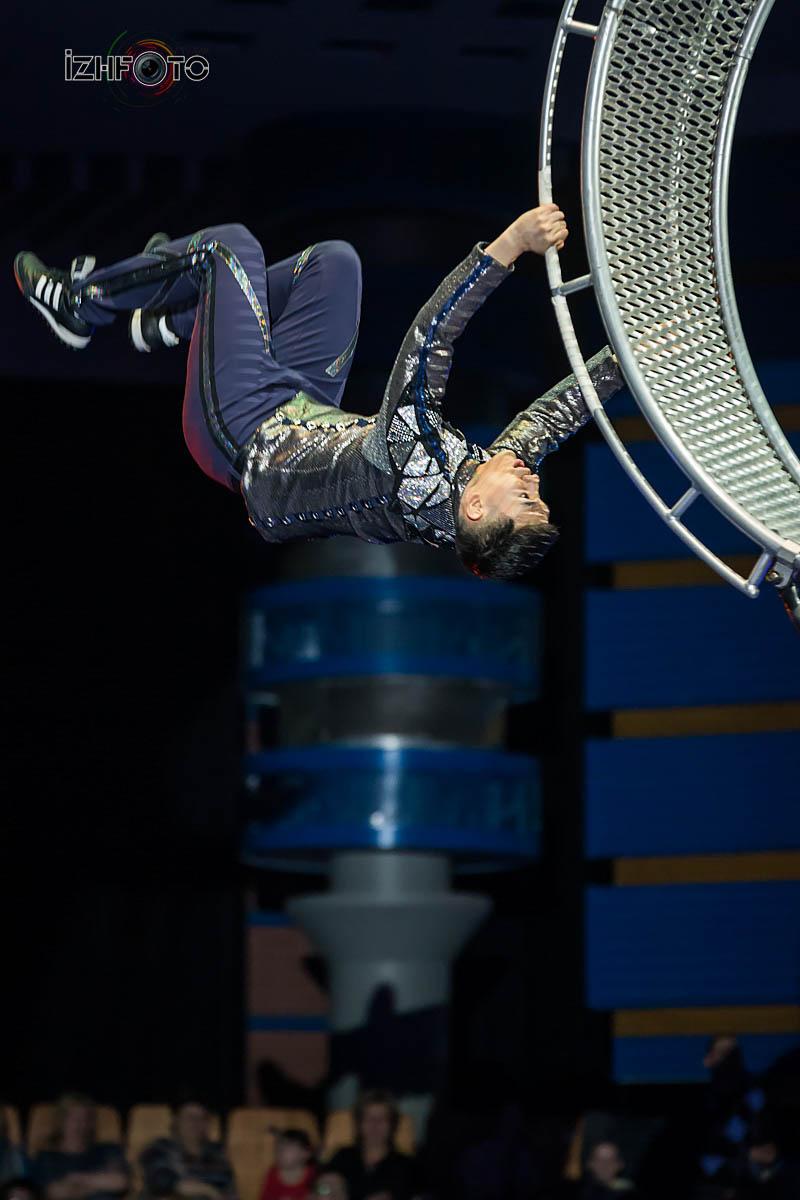 Колесо смерти Цирк