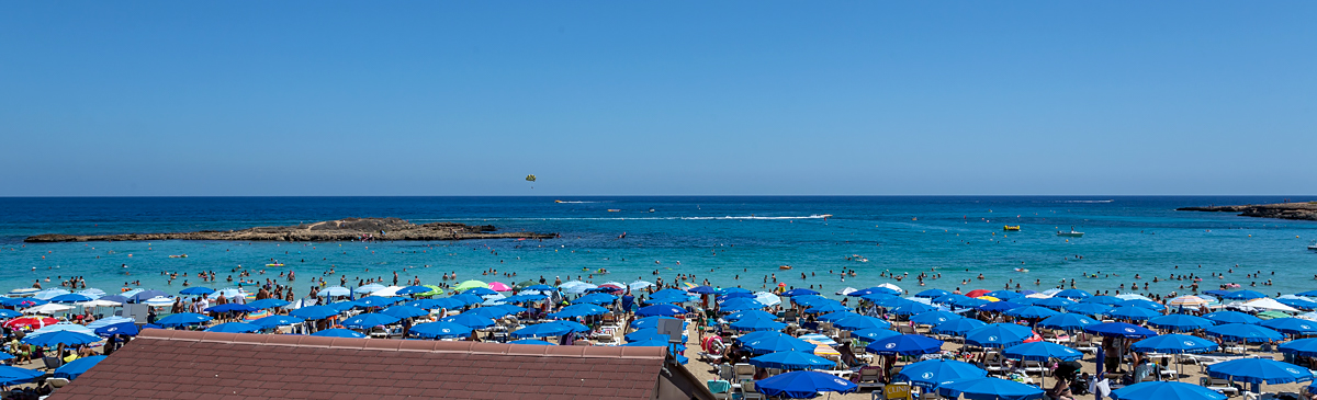 Пляж Протарас Кипр Фото
