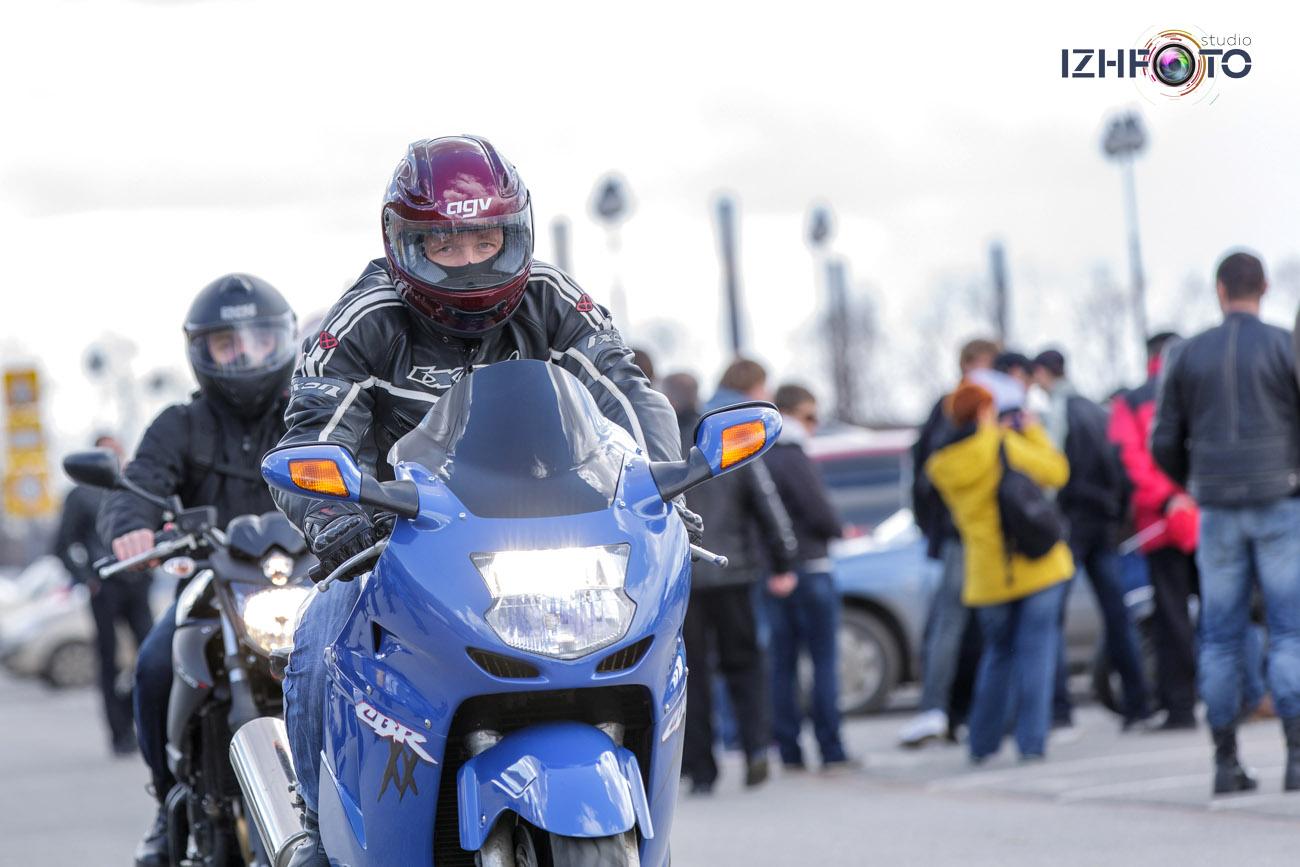 Мотоциклисты Ижевска Фото