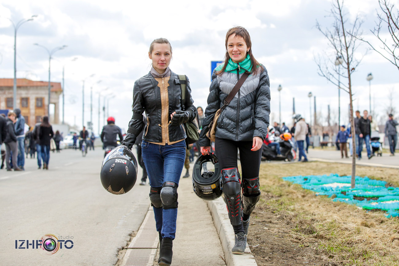 Мотоциклы и мотоциклисты Ижевска Фото