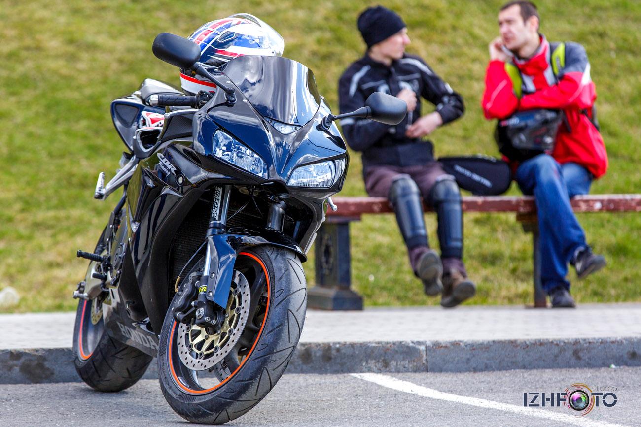 На каких мотоциклах ездят в Ижевске Фото