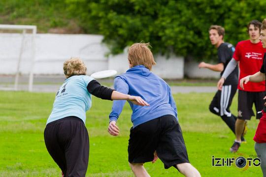 Алтимат Фризби интересный и красивый спорт