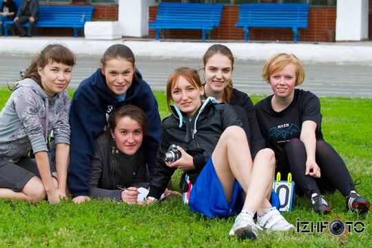 Чемпионат Ижевска по Алтимат Фризби, стадион Динамо