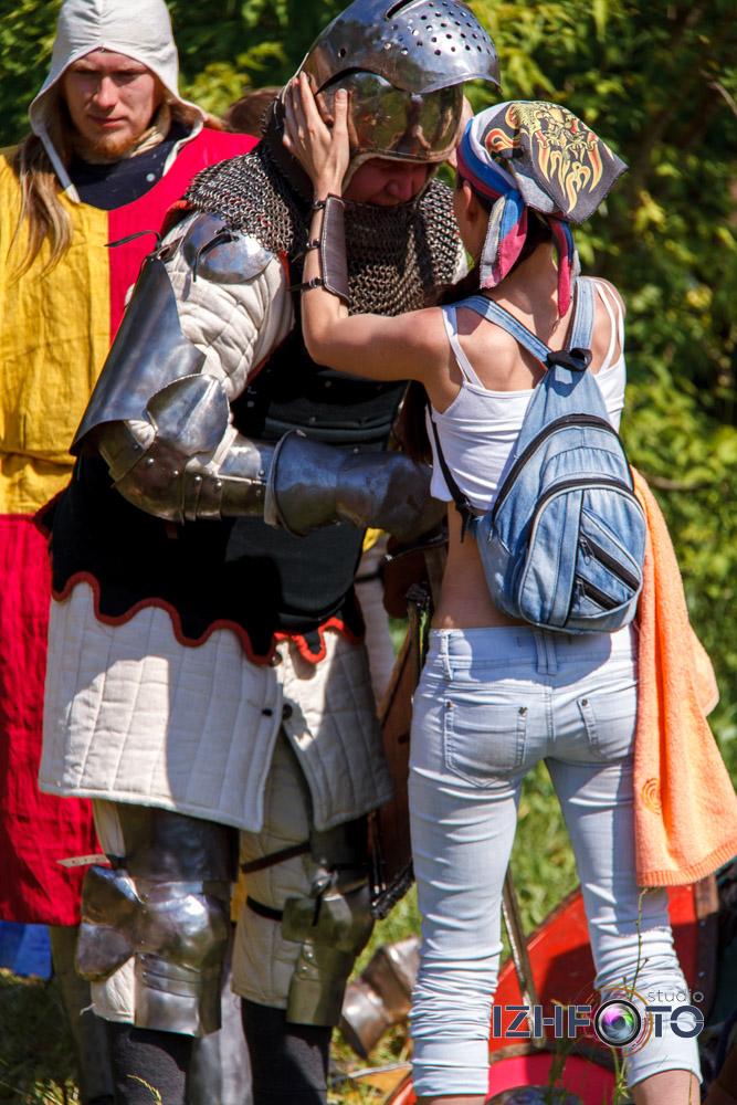 Рыцарские поединки Фото