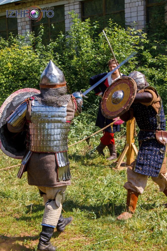 Реконструкция рыцарских поединков