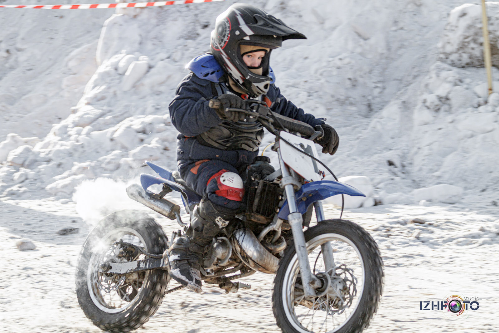 Зимний мотокросс в Ижевске