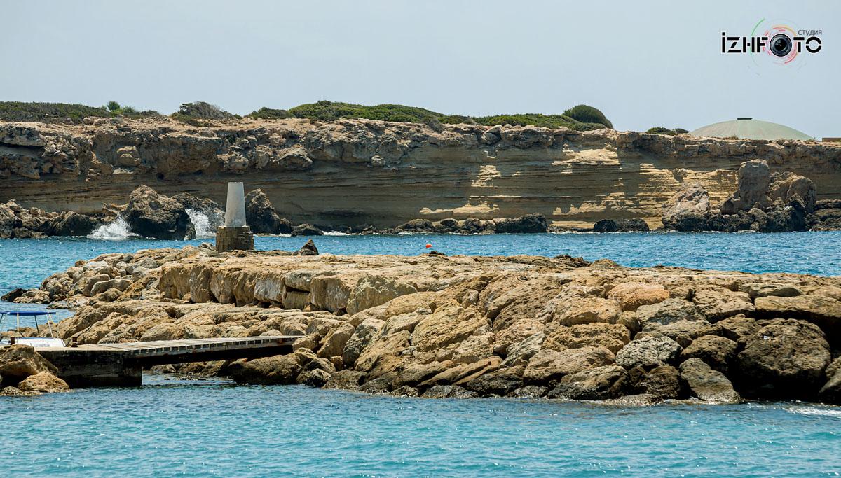 Фото пляжа в Коралловом заливе Пафос Кипр