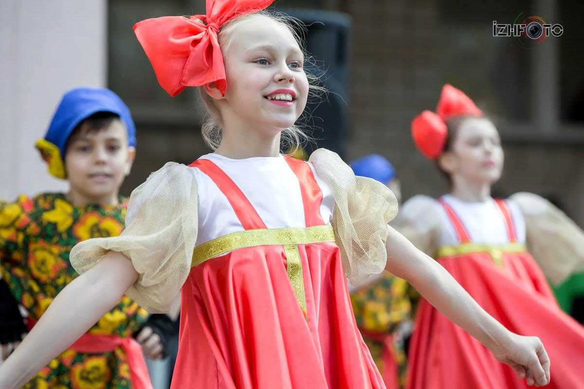 Праздник 9 мая школа 77 Ижевск