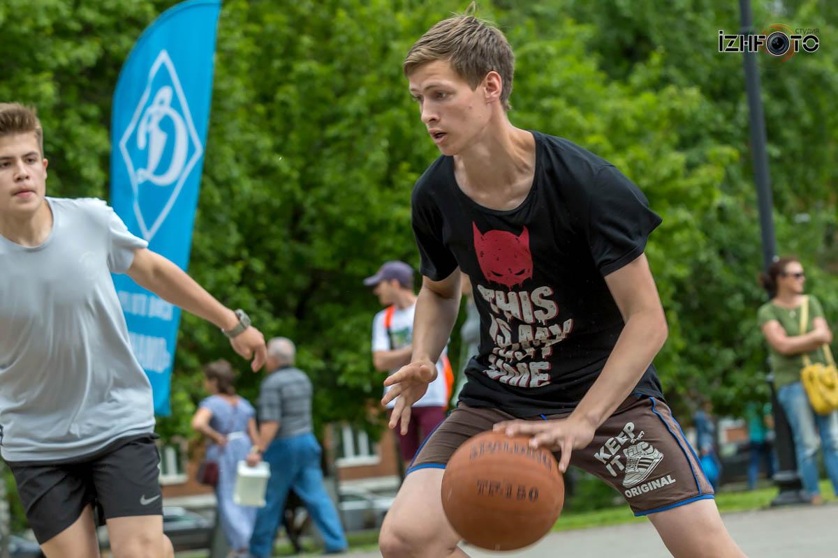 Уличный баскетбол в Ижевске