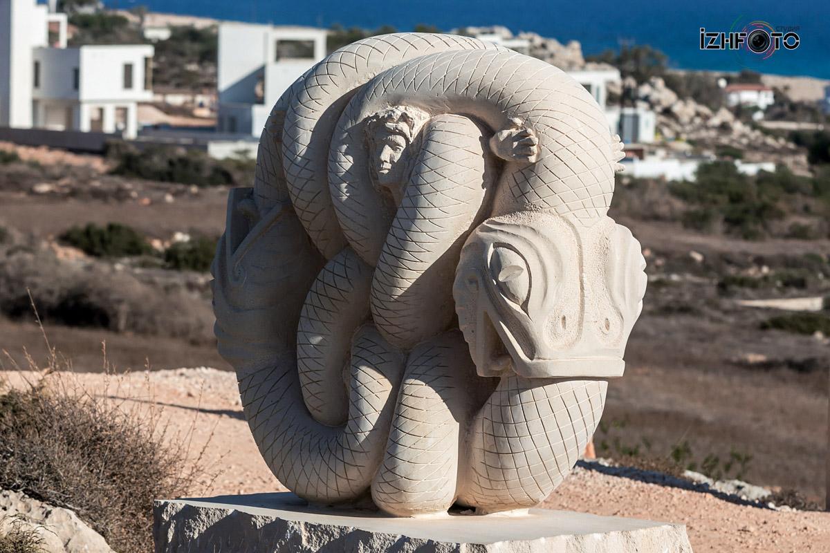 Парк скульптур Айя напа
