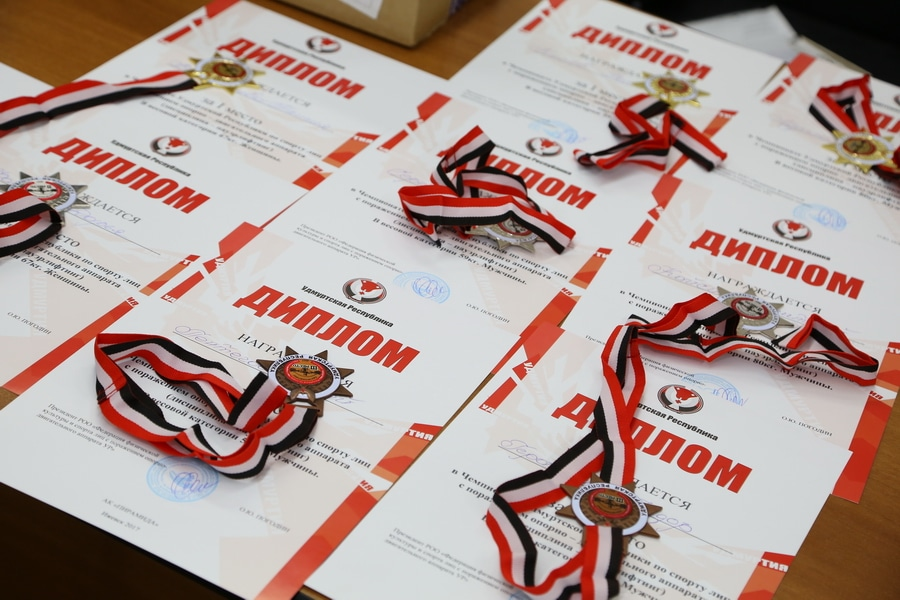 Чемпионат УР по пауэрлифтингу среди инвалидов