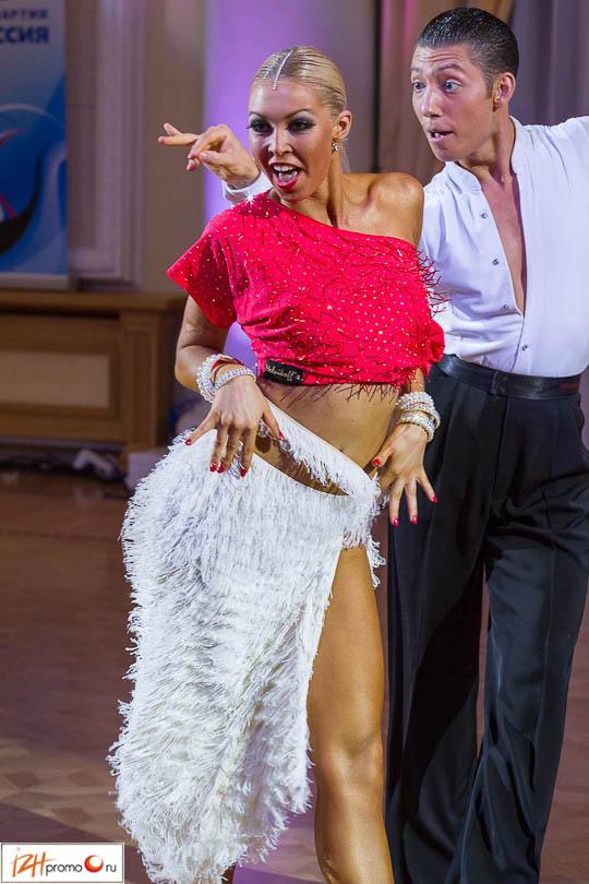 Танцевальный спорт в Ижевске