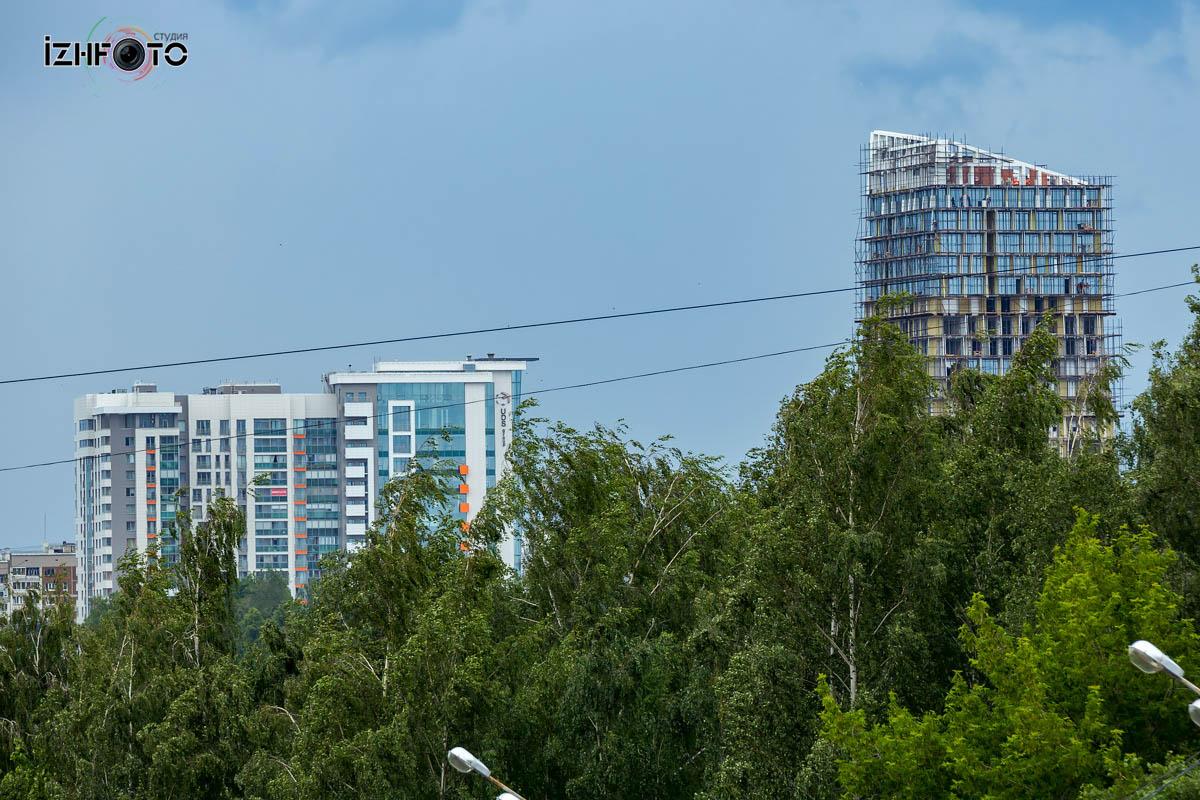 Строительство жилого комплекса Ocean City Ижевск