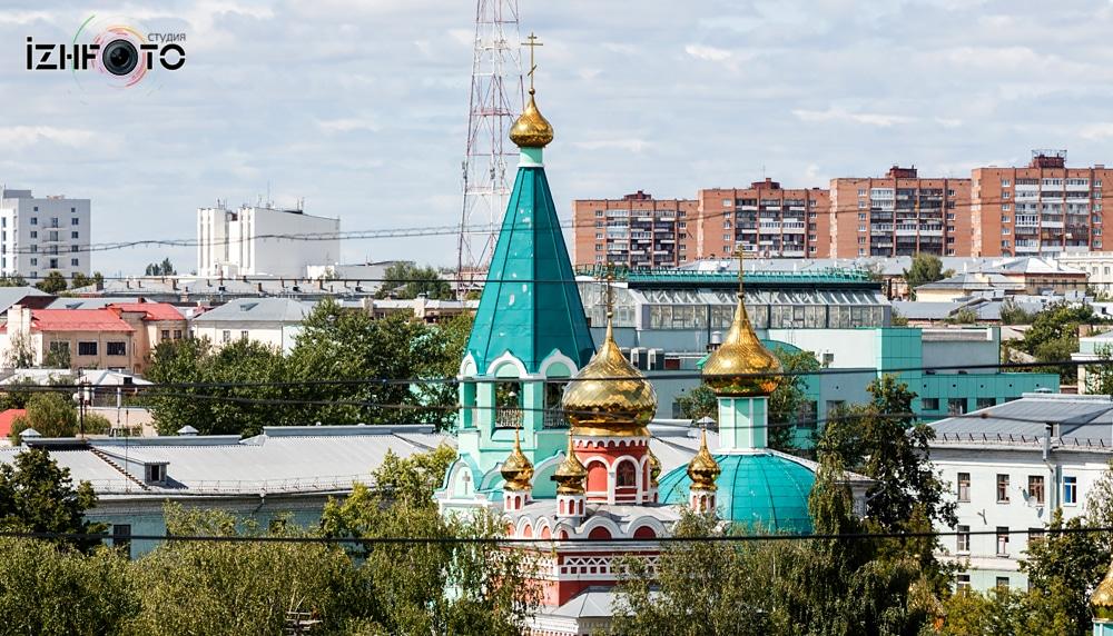Собор на Удмуртской Ижевск