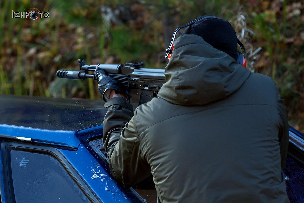 Фото с соревнований по практической стрельбе