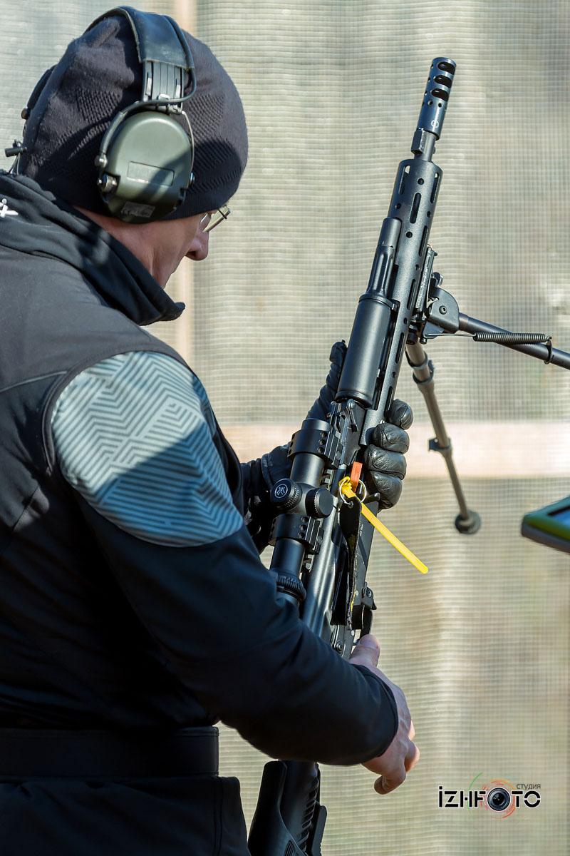 Фото с соревнований по стрельбе из карабина 2019 Ижевск