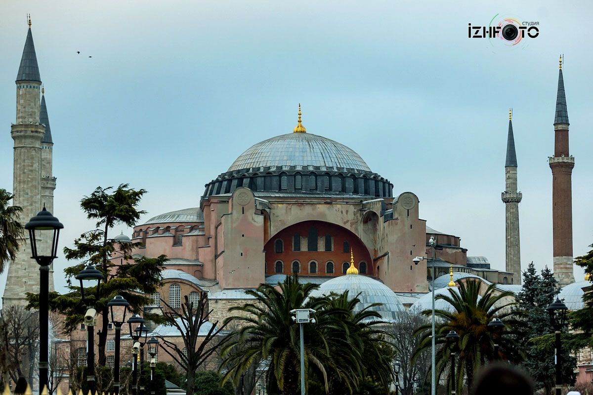 Фото Собора Святой Софии в Стамбуле