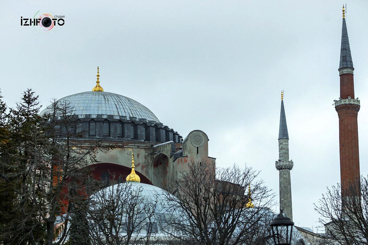 Музей Айя-София Стамбул Фото