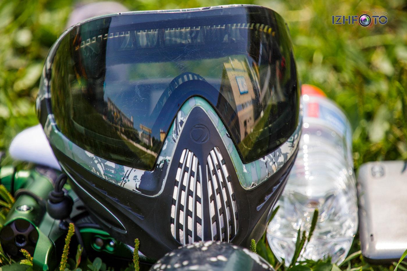 Пейнтбол в Ижевске Фото