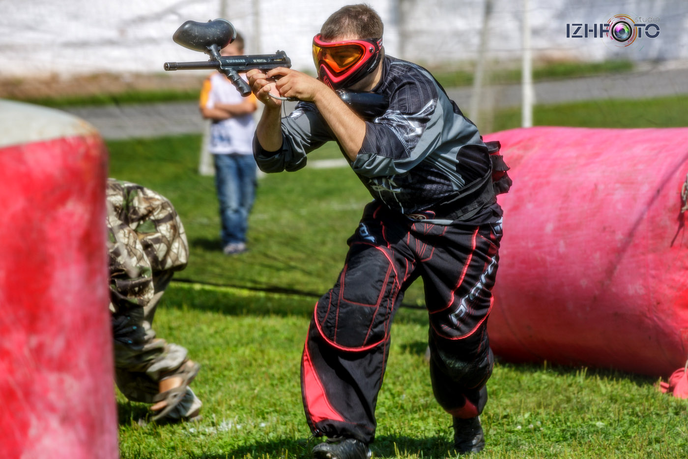 Соревнования по пейнтболу в Ижевске