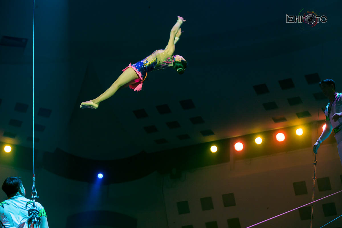 Фестиваль циркового искусства Ижевск  Фото