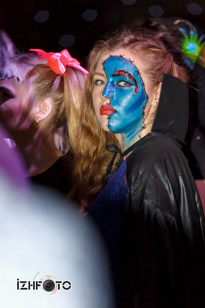 Вечеринка Хэллоуин в Ижевске