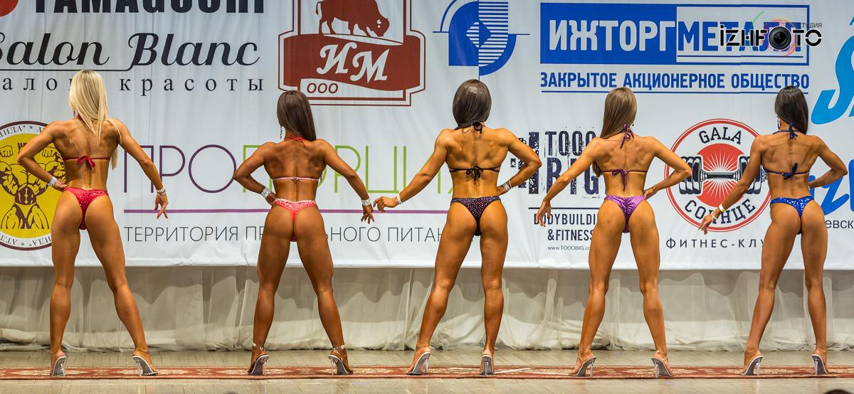 Фитнес бикини сравнительное позирование