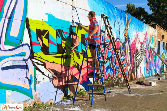 Граффити в Ижевске