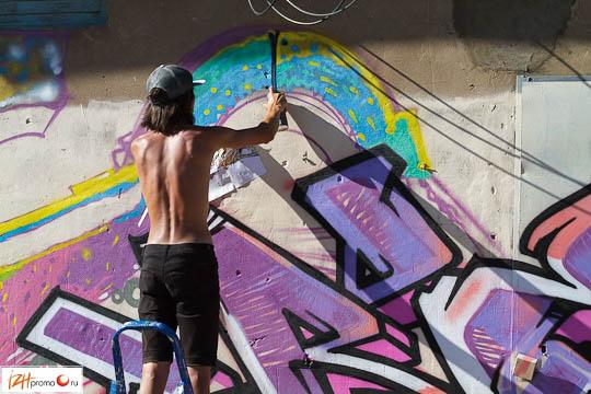 Фестиваль граффити Ижевск