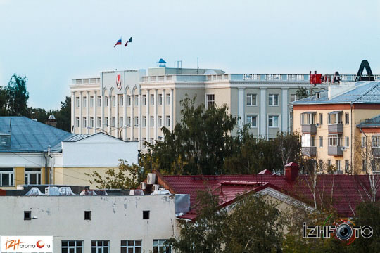 Фотосъемка на крыше Ижевск