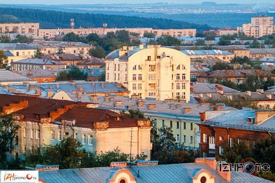 Фотосессия на крыше Ижевск