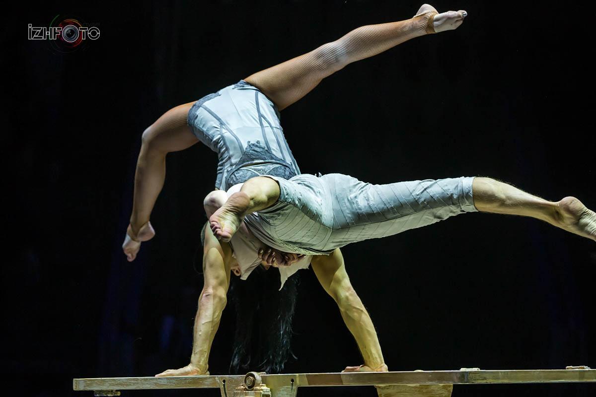 Фото с фестиваля циркового искусства Ижевск 2019