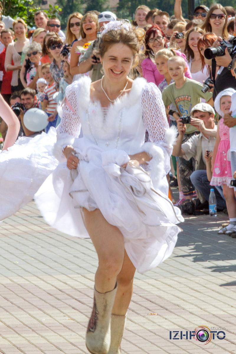 Финиш Марафона невест Ижевск