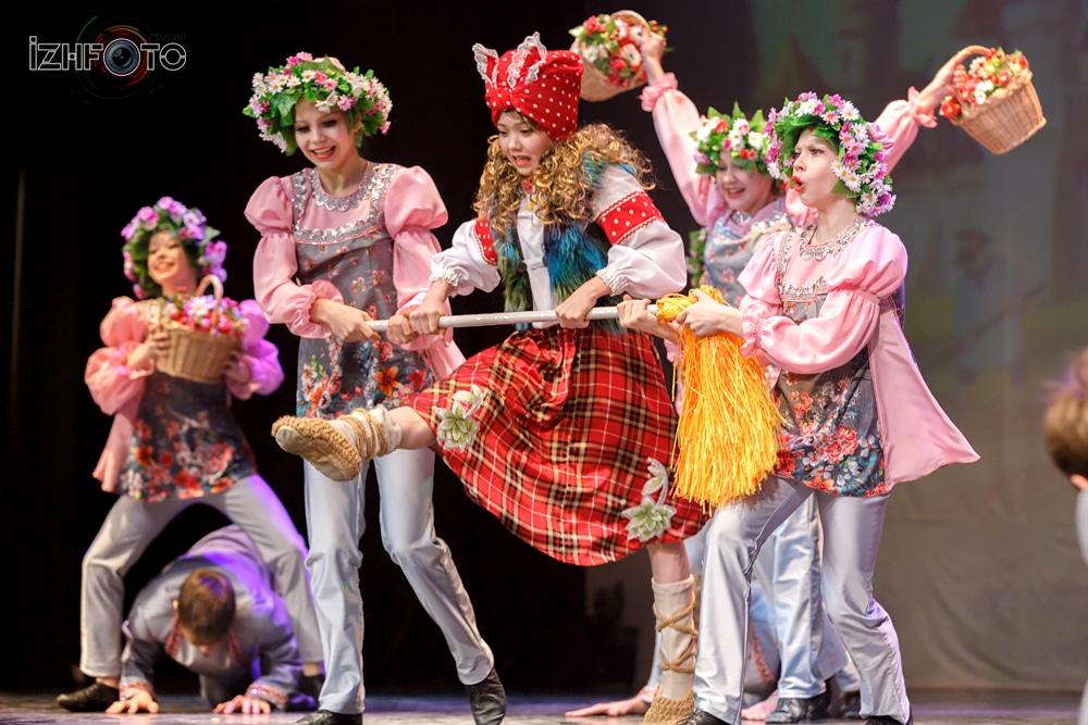 Танцевальные коллективы Удмуртии