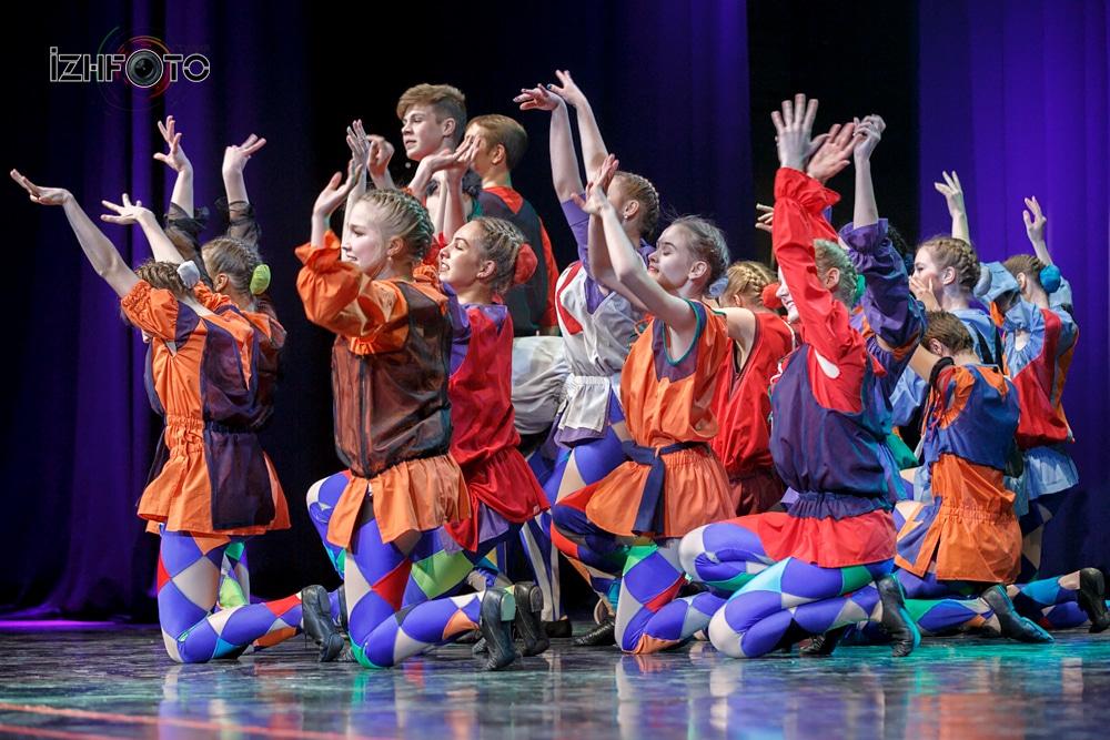 Танцевальный конкурс Апельсин